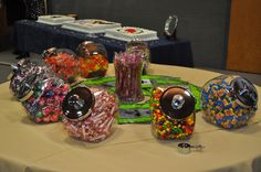 The Candy table at the Eagle Court Of Honor.