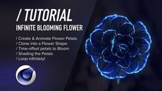 Part one of the Alien Flower tutorial series – on how to create & animate a growing and infinitely blooming flower in Cinema 4D. In Parte Uno we create and a...