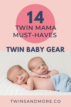 Twin Baby Gear: My Top 14 Twin Mama Must-Haves. Are you having twins and totally overwhelmed about which products you should add to your baby registry or twin baby gear shopping list? Having the right twin gear will make for a much happier and calmer mama. And happy mama = happy babies. And who doesn't want that? My top 14 twin mama must-have products will help get you started. Baby Registry Must Haves, Baby Registry Items, Baby Must Haves, Twin Mom, Twin Babies, Twin Carrier, Twins Announcement, Twin Strollers, Baby Corner