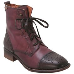 Buy Wine Pikolinos Women's 909-7150 Lace-Up Boot shoes