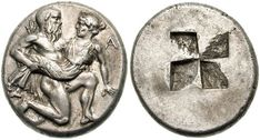 Greek Coins: Archaic and Classical Thasos,420 BC - Organize in #KlaserApp