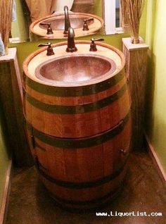 "BOURBON WHISKEY BARREL FURNITURE www.LiquorList.com ""The Marketplace for Adults with Taste"" @LiquorListcom #LiquorList"