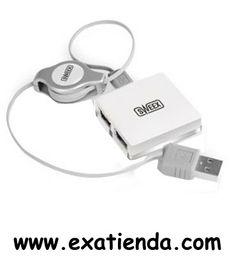 """Ya disponible Hub Sweex 4 ptos cocos white USB 2.0   (por sólo 12.89 € IVA incluído):   -Interfaz:USB 2.0 -""""Plug and play"""" -Tamaño de cable: 0.7 m -Cantidad de puertos: 4 -Dimensiones (Ancho x Alto x Largo): 42 x 42 x 8 mm -Gerencia de la energía: USB suministro de corriente -Color: Blanco -Velocidad de transferencia de datos: 480 Mbps  Garantía de 24 meses.  http://www.exabyteinformatica.com/tienda/2068-hub-sweex-4-ptos-cocos-white-usb-2-0 #hub #exabyteinformatica"""