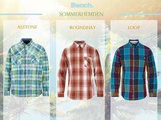 #Sommerhemden für #Männer #Karomuster #getthelook