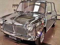 David Bowie's Mini Cooper