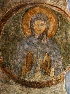 Святая Любовь Фреска придела святого Георгия.