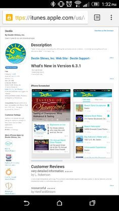 Destin Shines for iPhone