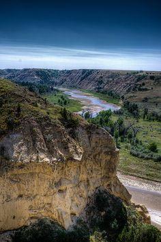 Theodore Roosevelt National Park in Medora, North Dakota