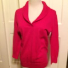 NWT Loft Outlet Women's Pink Collared Sweater Size Small | eBay