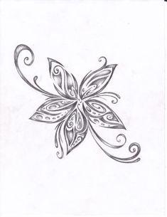 tattoo flower: