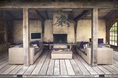 35 Ideas backyard bbq ideas design for 2019 Outdoor Lounge, Outdoor Rooms, Outdoor Living, Outdoor Patios, Outdoor Kitchens, Fire Pit Backyard, Backyard Bbq, Backyard Ideas, Backyard Landscaping