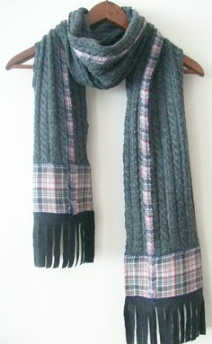 Gray men's scarf, gray patterned scarf, unisex gray scarf, winter accessories, men's fashion, christmas gifts, christmas gifts men by NESRINDESIGN on Etsy https://www.etsy.com/listing/206223098/gray-mens-scarf-gray-patterned-scarf