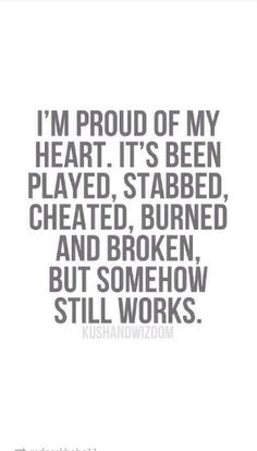 Yes it has....for my best friend betrayed me