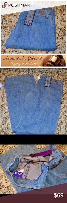 """RARE Vintage Joe's Jeans New with tags 34"""" inseam RARE Vintage Joe's Jeans New with tags Size 28 True Blue 100% Cotton Approximate 34"""" inseam and 8"""" rise Joe's Jeans Jeans Flare & Wide Leg"""