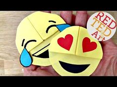 DIY Easy Origami Corner Bookmark - YouTube