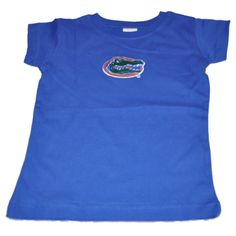 Florida Gators Two Feet Ahead Toddler Girls Blue Long Length Cotton T- – Sporting Up