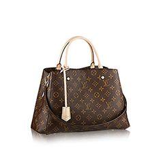 Louis Vuitton Montaigne MM Monogram Handbag Article: M410...