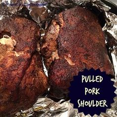 This easy smoker recipe for Pulled Pork Shoulder will have your mouth watering…