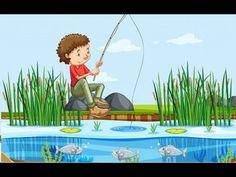 A man fishing at the lake Free Vector Fishing Box, Fishing Reels, Fly Fishing, 1st Birthday Boy Themes, Fishing Calendar, Team Edge, Blank Banner, Different Fish, Comic Poster