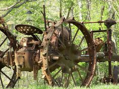 Old tractor - Yep, I have one in my front yard!