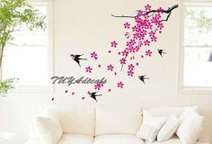 wall decals  Vinyl Wall Decal Nature Design Tree by TUYAdecals, $45.00