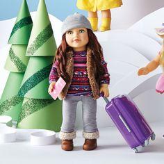 "Newberry(TM/MC) 18"" Doll - Travel Girl Avery"