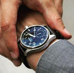 Alpina Startimer Pilot Automatic Watch #automatic, #BestWatches, #stylish