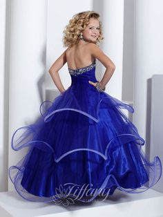 Boys In Womanless Beauty Pageants   Tiffany Designs 13312 Children's Beauty Pageant Dress