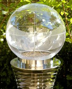 Very modern sundial