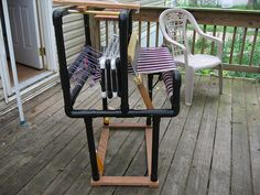 PVC Loom. Might have to consider this.