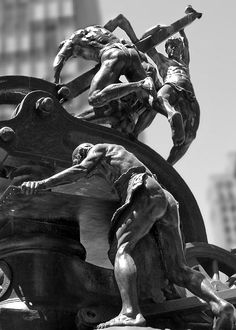 """""""Machinist Workers Sculpture"""" Click the """"pinned from"""" link to purchase this print."""
