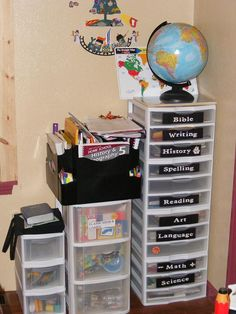 Adoptive Mom Homeschooling An Only Child: My dream homeschooling room.