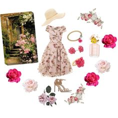 A fashion look from January 2015 featuring tulle cocktail dresses, charm bracelet bangle and marc by marc jacobs ring. Browse and shop related looks. Fashion Outfits, Flowers, Polyvore, Design, Women, Fashion Suits, Women's, Fashion Sets, Royal Icing Flowers