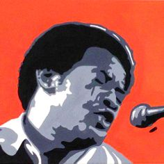 Bill Withers Acrylic on Canvas