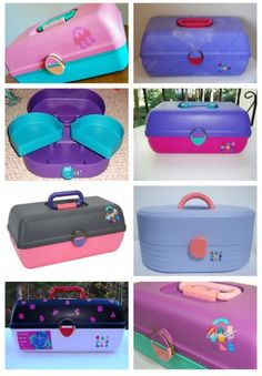 Caboodles....every girl had one to store their scrunchies, jelly bracelets, and makeup!