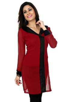 The salwar kameez is one of the traditional cotton outfits worn by Indian women, especially in the Punjab region. This outfit consists of loose, ankle-length pants (salwar), and a knee-length tunic top (kameez). Churidar, which is sleeker and narrower, is the modern version of salwar kameez.