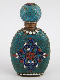 Russian perfume bottle