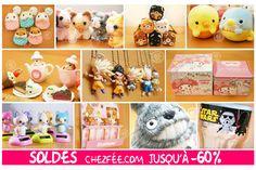 Soldes Juillet 2016 de la boutique kawaii www.chezfee.com ! :D