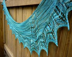 Ravelry: Coastline Shawl pattern by Linda Wilgus