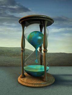 hour glass | Earth Hourglass