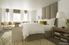 Simple and Luxurious; love this neutral bedroom!  http://www.veranda.com/room-decorating/modern-boston-apartment?src=spr_FBPAGE&spr_id=1455_42541205#slide-7