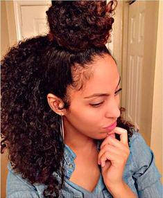 Love Hair, Big Hair, Gorgeous Hair, Grow Long Hair, Grow Hair, Afro, Curly Hair Styles, Natural Hair Styles, Curls For The Girls