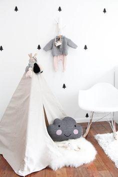 Pequeña habitación de estilo nórdico ¡crea ilusión de espacio!