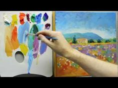 How to paint like Monet: Part 3 - Step-by-step Impressionist landscape painting