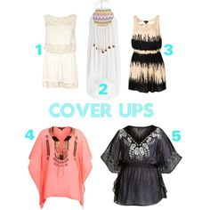 Cover Ups, created by jazzy-izzy on Polyvore