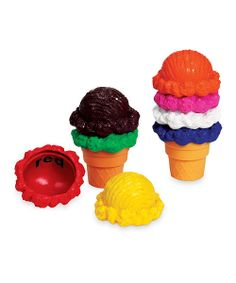 <p+style='margin-bottom:0px;'>This+truly+sweet+play+set+helps+little+ones+sharpen+their+color+recognition+and+fine+motor+skills.+Eight+scoops+are+great+for+stacking+on+the+included+cones,+and+each+one+is+labeled+with+the+name+of+the+color+underneath.+<li+style='margin-bottom:0px;'>Includes+eight+scoops+and+two+cones<li+style='margin-bottom:0px;'>Scoop:+2''+H+x+3''+diameter<li+style='margin-bottom:0px;'>Recommended+for+ages+2+to+5+years<li+style='margin-bottom:0px;'>Imported<br+/>