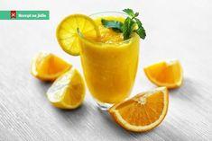 Vanilkou a pomerančem vonící nápoj si připravíme během chvilky a může nám nahradit malou svačinu. Cantaloupe, Smoothies, Fruit, Food, Essen, Smoothie, Yemek, Smoothie Packs, Fruit Shakes