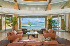 Waterfront Homes: Architectural Masterpiece in Honolulu, Hawaii Honolulu Hawaii, Hawaii Ocean, Home Design, Design Ideas, Luxury Portfolio, Sliding Glass Door, Glass Doors, Floor To Ceiling Windows, Waterfront Homes