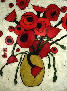 Karen Tusinski - Fantasy Poppy Bouquet