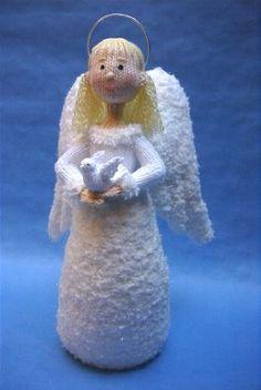 Alan Dart Knitting Pattern: Snowflake Angel